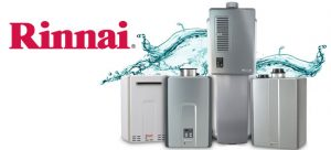 Tankless water heater rinnai